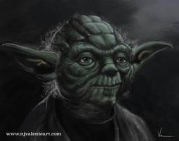 Yoda by NJValente
