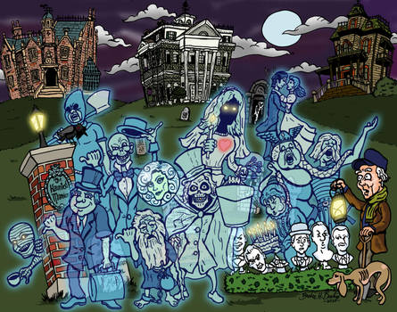 The Haunted Mansion by brodiehbrockie