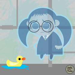 Vector Potter4: Moaning Myrtle by brodiehbrockie