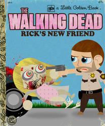 Unlikely Little Golden Books: The Walking Dead by brodiehbrockie
