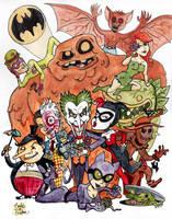 Bat Villains! by brodiehbrockie