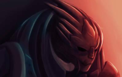 Garrus Vakarian from Mass Effect ! by MilleniaValmar