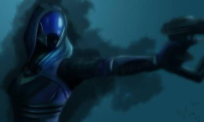 Tali from Mass Effect by MilleniaValmar
