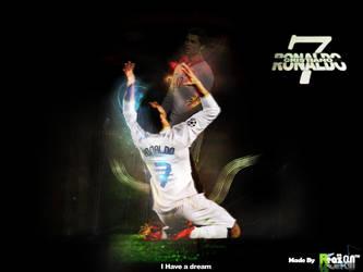 C.Ronaldo wall4e by reazoNN