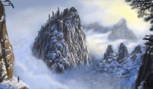 Mountain City by isdira