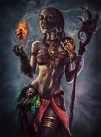 Voodoo Princess by isdira