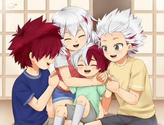 Todoroki Siblings by ShuujiChan