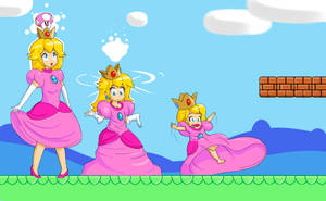 Princess Peach AR by Secretagentmittens