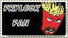 Frylock Fan Stamp by topazgurl