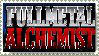 Fullmetal Alchemist Logo Stamp by topazgurl