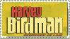Harvey Birdman Logo Stamp by topazgurl