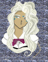 Urd - Colored by topazgurl