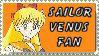 Sailor Venus Fan Stamp by topazgurl
