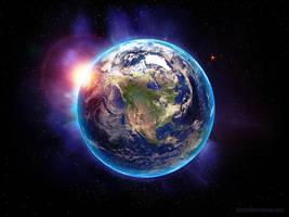 Earth by alxndrdr