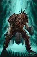 brawler character design by graphitenightmare