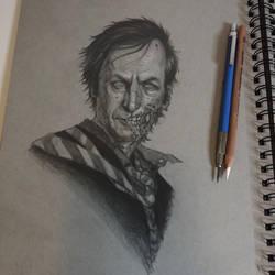 Zombie Saul by graphitenightmare