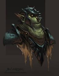 The Goblin General by graphitenightmare