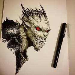 Dragon Soldier by graphitenightmare