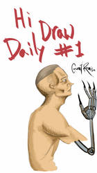 Daily Draw 1 by grittycity