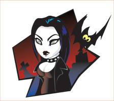 Goth girl by lanika
