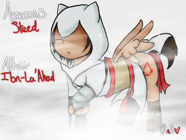 Assassins Steed Altair by mewmewgold