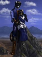 The Happy Couple - AO Style by JakkalWolf