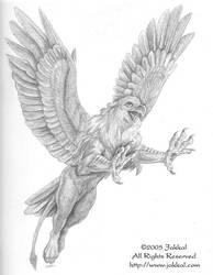 Gryphon Transformation Page 5 by JakkalWolf