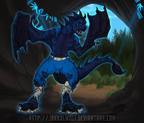 Wyvern Transformation by JakkalWolf