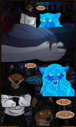 Black Tapestries: Issue 20 Page 49 by JakkalWolf