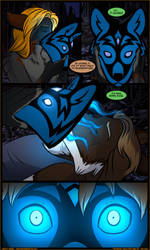 Black Tapestries: Issue 20 Page 50 by JakkalWolf