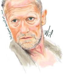Merle-Comics Style-wip by Sallysammy