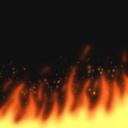 Fire test 1 by gyappumusoka