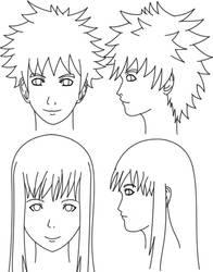 Forward - Profile Headshots training 1 by gyappumusoka