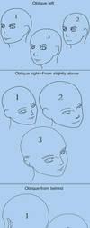 Head training-Miscellaneous Poses 1 by gyappumusoka