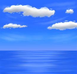 First simple waterscape test by gyappumusoka
