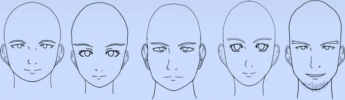 Front head batch 3 by gyappumusoka
