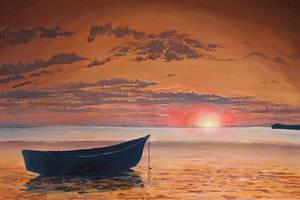 Sunset by Hidoba