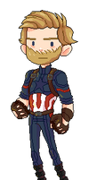 Steve Rogers by mishADDo