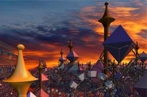 Imhotep's Equinox Fair by solark
