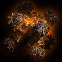 Volcanic Snowflake by solark