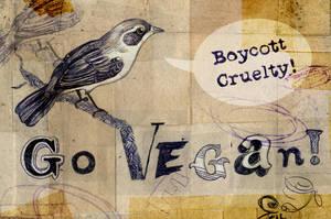 Go Vegan by GloriousMissJane