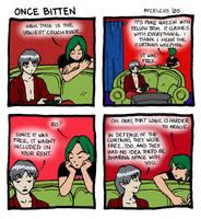 Once Bitten Strip Seven by Aycelcus