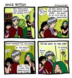 Once Bitten Strip Ten by Aycelcus