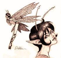 Dahlia by Aycelcus