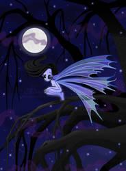 Dark Fairy Night by clrkrex