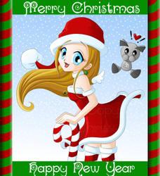 Merry Christmas DeviantArt by clrkrex