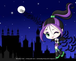 Cheeky Vamp by clrkrex