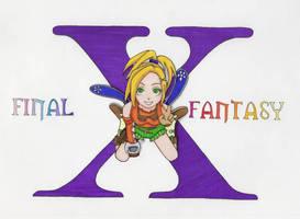 FFX Rikku poster by clrkrex