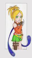 Rikku by clrkrex
