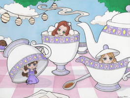 Tea Party Sprites by clrkrex
